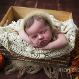 Autumn Newborn Session: London Newborn Photographer