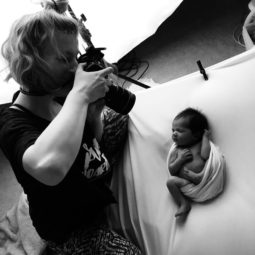 Behind the Scenes of Newborn Photography